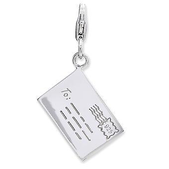 925 Ayar Gümüş Rodyum kaplama Fancy Istakoz Kapatma 3 d Mektup Adı Kişiselleştirilmiş Monogram İlk ıstakoz clas ile