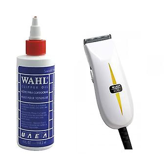 Wahl Clipper Oil 4oz and Wahl Super Micro Trimmer