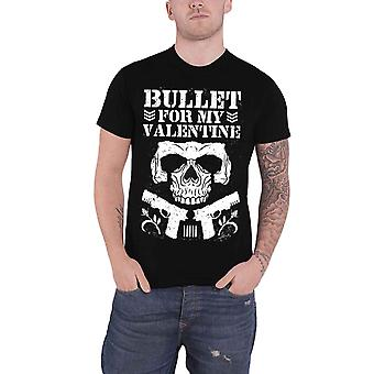 Bullet For My Valentine T Shirt Bullet Club band logo new Official Mens Black