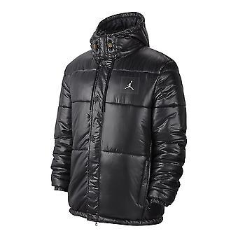 Veste Nike Air Jordan Jumpman Puffer Jacket Black AV2600010 gilets d'hiver universels pour hommes