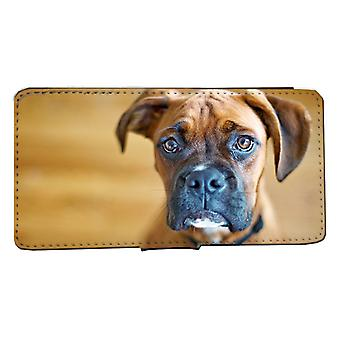 iPhone 6/6s wallet case Boxer dog picture case shell