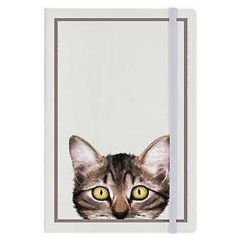 Inquisitive Creatures Kitten A5 Hard Cover Notebook