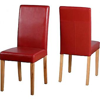 Pair Of G3 Chairs - Red Pu