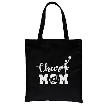 Cheer Mom Canvas Bag Heavy Cotton Unique Mother's Day Gift Ideas