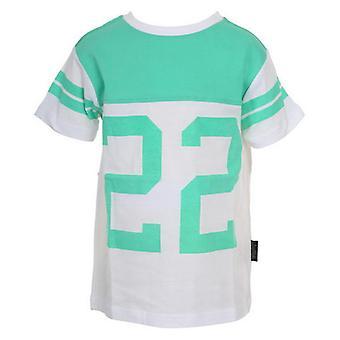 T-shirt straat leven wit