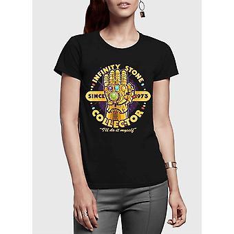 Kivi keräilijä puoli hihat naisten t-paita