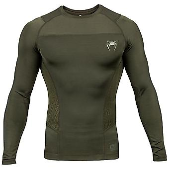Venum G-fit lange mouwen Rash guard kaki