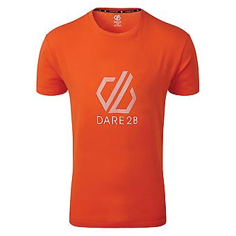 Durf 2b Mens Continuous Cotton Casual Logo T Shirt Tee