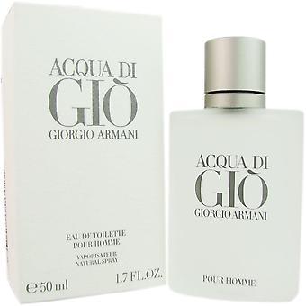 Acqua di gio para homens por giorgio armani 1,7 oz eau de spray de Colónia