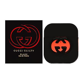 Gucci culpable de negro para mujeres 1.7 oz eau de toilette spray