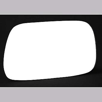 Right Driver Side Stick-On Mirror Glass TOYOTA AVENSIS Estate 1997-2003