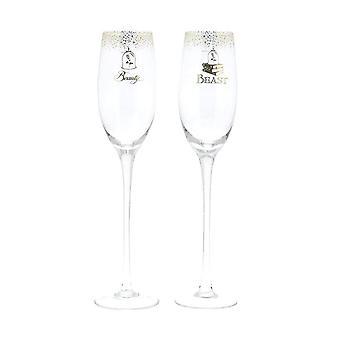 Belle Wedding Toasting Glasses