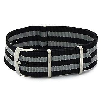 Morellato جلدية سوداء حزام أسود 22 مم الفرقة A01U3972A74819CR22 رجل