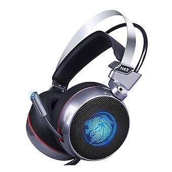 ZOP N43 Stereo Gaming Headset Earphone Headphones with 7.1 Virtual Surround Microphone