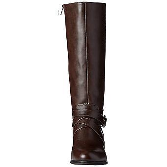 LifeStride Womens Subtle Fabric Closed Toe Knee High Fashion Boots