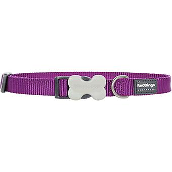 Red Dingo Smooth Dog Collar Purple (Dogs , Collars, Leads and Harnesses , Collars)