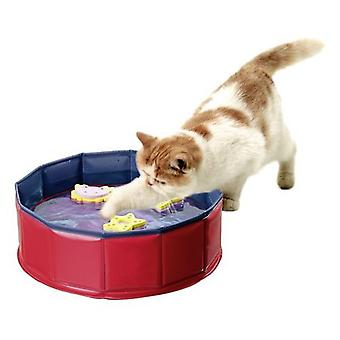 Karlie Flamingo Kitty lake pool with 3 toys 30 cm x 10 cm. (Cats , Toys , Movement)