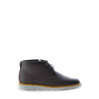 Clae Ezbc392001 Men's Brown Leather Ankle Boots