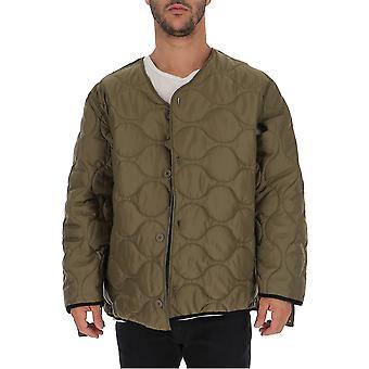 Buscemi Bmw19129 Men's Green Nylon Outerwear Jacket