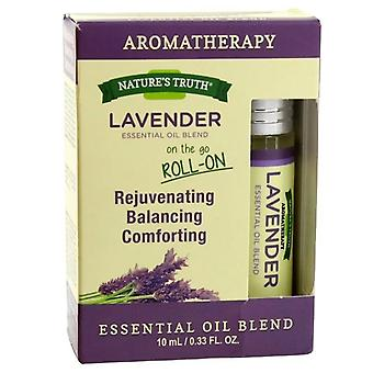 Nature's truth essential oil roll-on blend, lavender, 0.33 oz