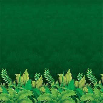 Tło liści dżungli