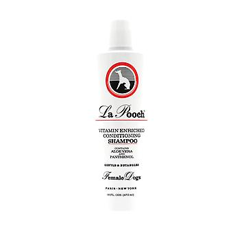 La Pooch Vitamin Enriched Conditioning Luxury Shampoo for Female Dogs