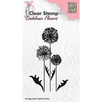 Неллизапос;s Выбор Clearstamp - цветок соболезнований 6 CSCF006