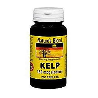 Nature's blend kelp, 150 mcg, tablets, 200 ea