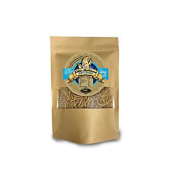 40 g zout en azijn smaak eetbare meelwormen voor menselijke consumptie