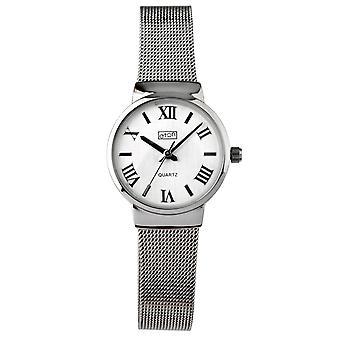 Eton damas reloj de moda, pulsera de malla de acero inoxidable - 3239L-CH