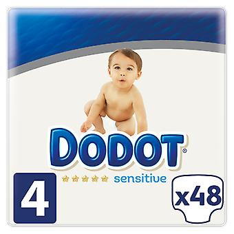 Dodot Sensitive Diaper Size 3 with 56 Units (Baby & Toddler , Diapering , Diapers)
