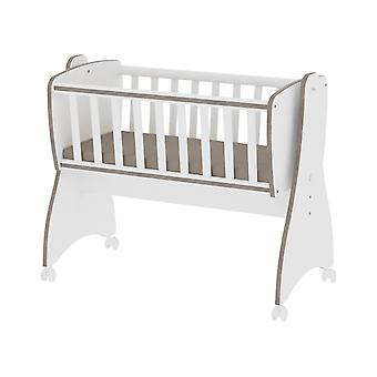 Lorelli Baby Cradle, Baby Swing First Dreams 4 Hjul, Bremser, cabriolet