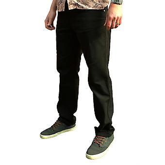 Chet Rock Black Caleb Workwear Jeans 32 L