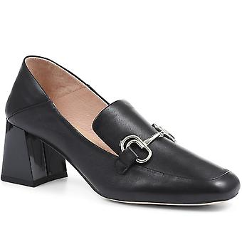 Staccato Womens Heeled Horsebit Loafers