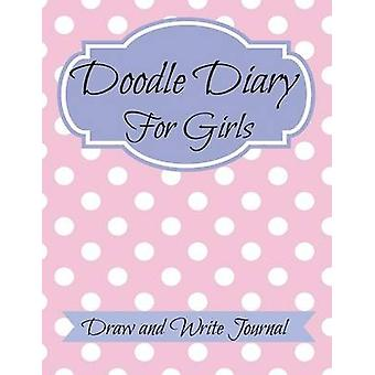 Doodle Diary for Girls JUMBO SIZE Draw and Write Journal by Kids & Creative