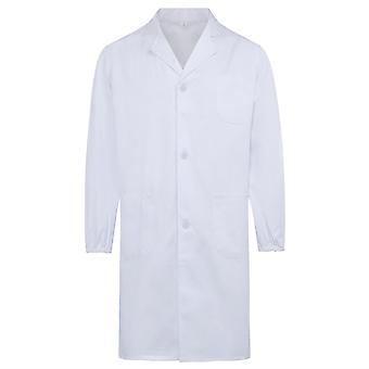Allthemen Men's Cotton Medical Health Overalls Long Sleeves Medical Gowns