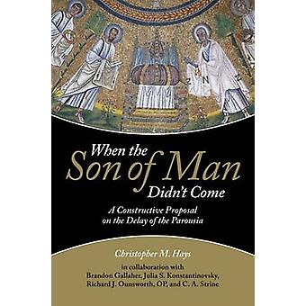 When the Son of Man Didn't Come - A Constructive Proposal on the Delay