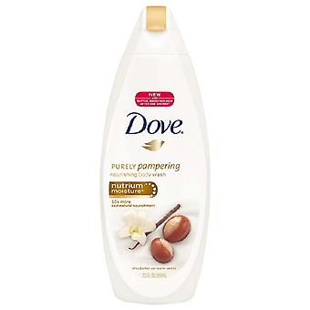 Dove purely pampering body wash, shea butter & warm vanilla, 22 oz