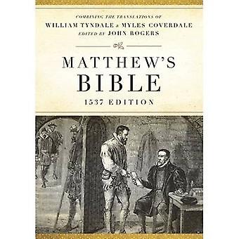 The Matthew's Bible by Hendrickson Bibles - 9781598563498 Book