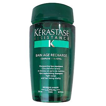Resistance Bain Age Recharge Shampoo Kerastase 8.5 oz