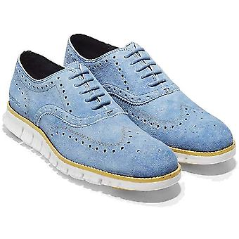 Cole Haan Mens Zerogrand Wing Ox Leather Lace Up Casual Oxfords