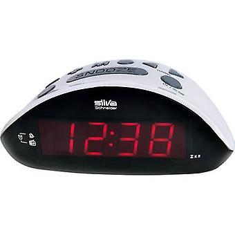 Silva Schneider UR 1190 Radio alarm clock FM Black, Grey
