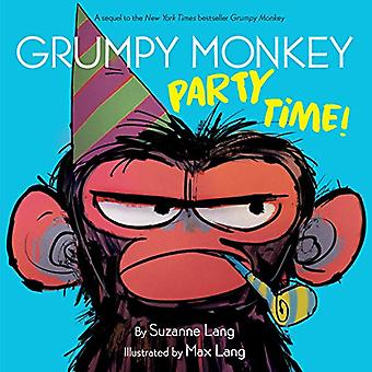 Grumpy Monkey Party Time! by Suzanne Lang - 9780593118627 Book