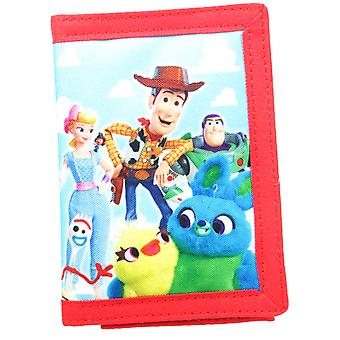 Toy Story Toys At Play Tri-Fold Childrens Wallet Hook & Loop