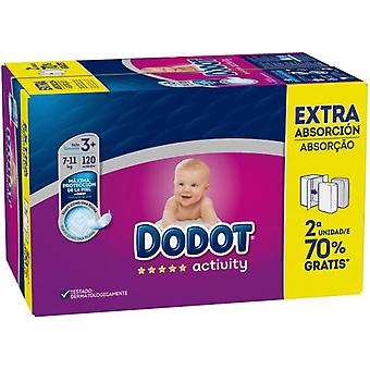 Dodot Activity Diapers Size 3 120 units
