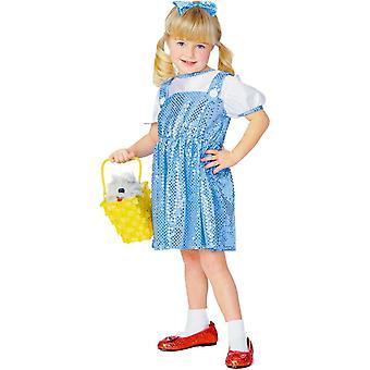 Dorothy Wiz av Oz barn kostym