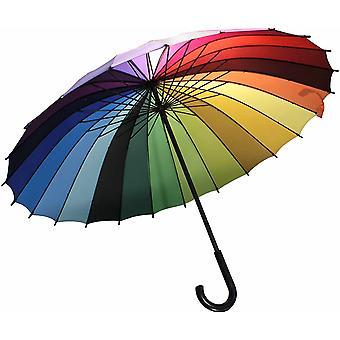 Rainbow Umbrella 90cm Gay Pride Rainbow Umbrella