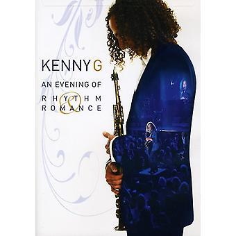 Kenny G - importación de Estados Unidos la noche de ritmo y Romance [DVD]