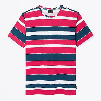 PS Paul Smith  - Organic Cotton Stripe T-shirt - Pink