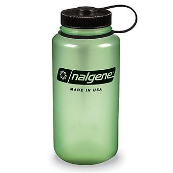 Nalgene Wide Mouth Glow 1.0L Bottle (Green)
